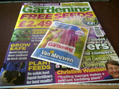 Amateur Gardening Magazine 27 JUNE 2015 New with seeds