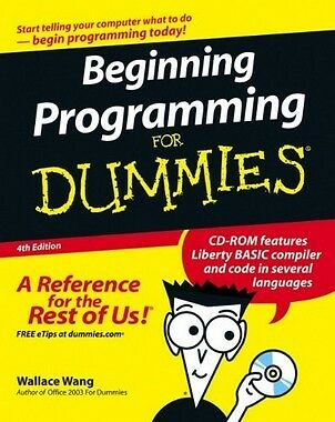 Beginning Programming for Dummies (4th Revised edition),PB,Wallace Wang - NEW