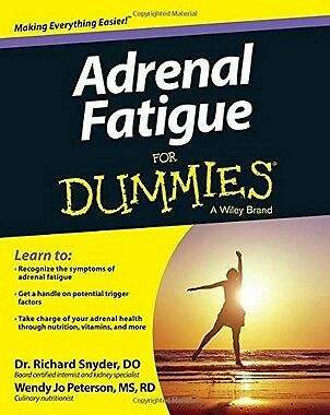Adrenal Fatigue For Dummies,PB,Richard Snyder - NEW