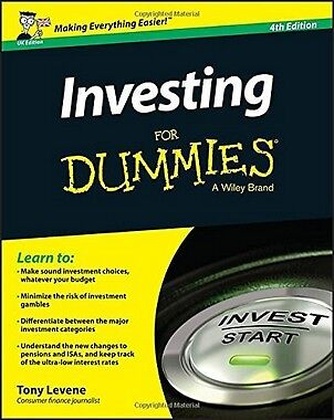 Investing for Dummies,PB- NEW