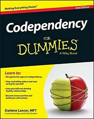 Codependency For Dummies,PB- NEW