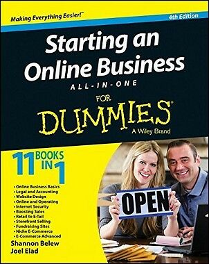 Starting An Online Business All-in-one For Dummies,PB- NEW