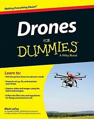 Drones For Dummies®,PB- NEW