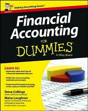 Financial Accounting For Dummies,PB,Steven Collings - NEW