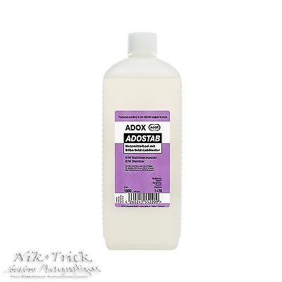 Adox Adostab B&W Wetting Agent and Image Stabilliser ~ 1000 ml Concentrate
