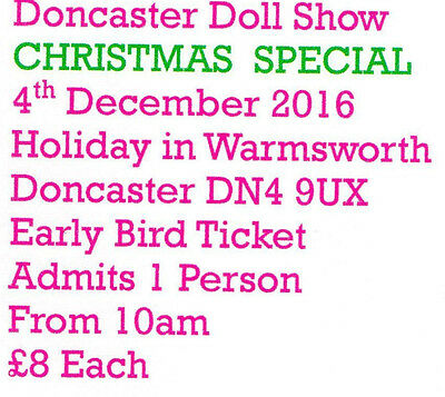 Doncaster Doll Show Tickets