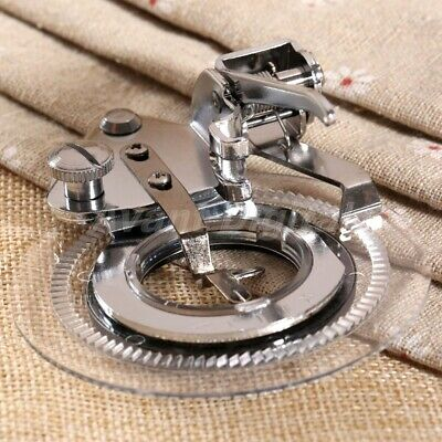 Sewing Machine Presser Foot For Janome Brother Flower Stitch Circular Embroidery