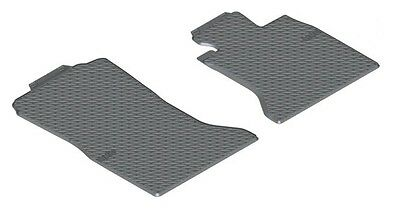 BMW Genuine All-Weather Rubber Front Car Floor Mats Black F10/F11 51472350432