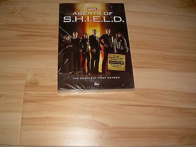 Complete First Season 1 One Sealed NEW MARVEL AGENTS OF SHIELD (DVD, 2014, abc)
