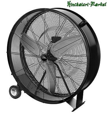 "Industrial Drum Fan 36"" Garage Air Vent Warehouse Commercial Shop High Velocity"