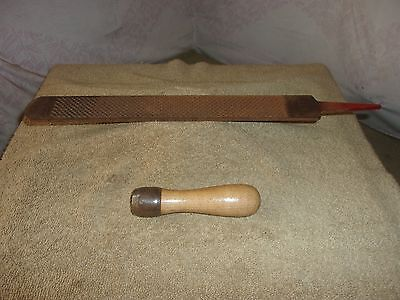 Vgt Simonds Farrier Rasp Wood Skroo-Zon Handle  Wood Working Horse Shoe