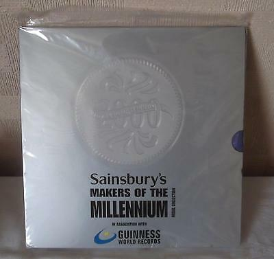 Sainsburys Makers of the Millennium Medal Collection Mint & Sealed