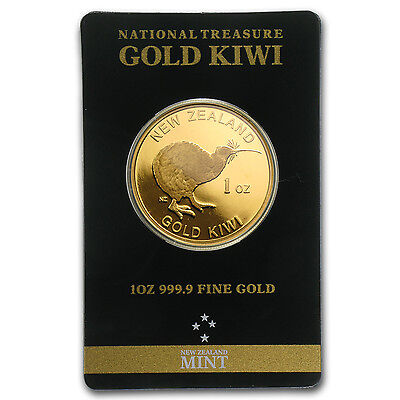 1 oz New Zealand Gold Kiwi Round