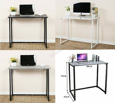 FoxHunter Foldable Computer Desk Folding Laptop PC Table Home Office Study CD03
