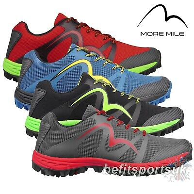 More Mile Cheviot 3 Mens Trail Off Road Fell Mudgrip Mud Running Trainers Shoes