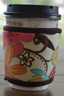 NEW Cup Couture Thermal Sleeve for Hot Coffee or Tea Cup