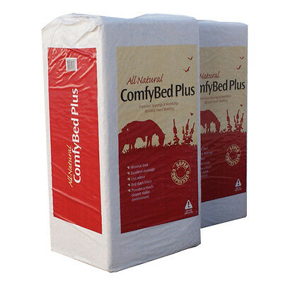 24KG DUST EXTRACTED WOOD SHAVINGS FOR RABBITS HORSES & PETS Comfybed Plus
