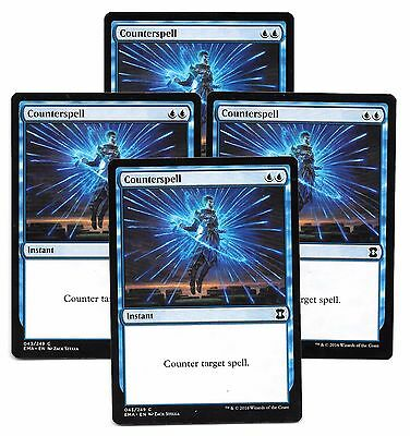 4 COUNTERSPELL x4 Eternal Masters Contrahechizo MTG NM Ingles