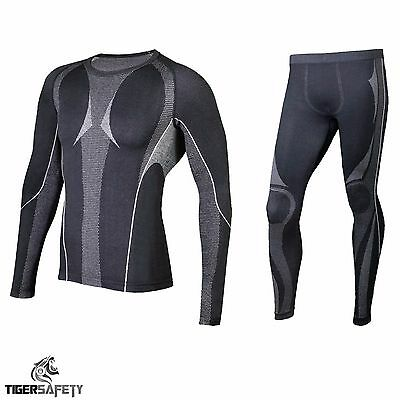 Delta Plus Panoply Koldy Winter Thermal Underwear Set Long Johns Vest Base Layer