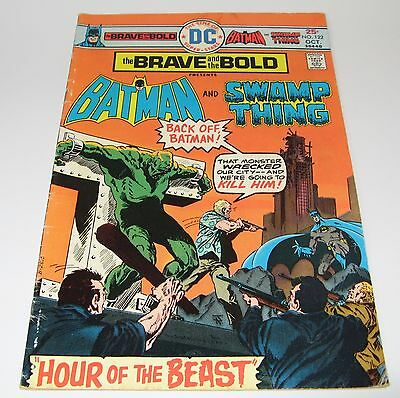 DC Comics,Brave And The Bold #122 ,Batman and Swamp Thing