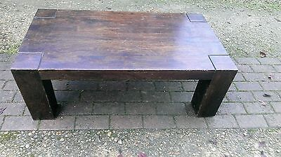 Vintage  Long  John  Coffee  Table