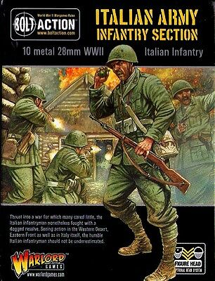 Warlord Games - Bolt Action - Italian army infantry section - 28mm
