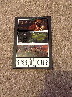 The Sabbat Worlds Crusade Games Workshop Black Library Rare Out Of Print