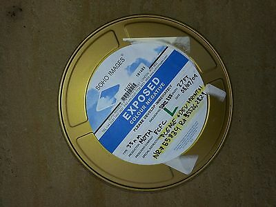 35mm Gold Metal Film Can Canisters 100ft
