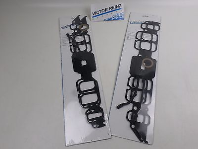 2 Sets! Victor MS15168 Intake Manifold Gaskets for BBC Rectangle 396 427 454