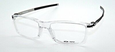 *clearance Sample Sale*oakley Pitchman 8050-02 53 Clear   Eyeglasses