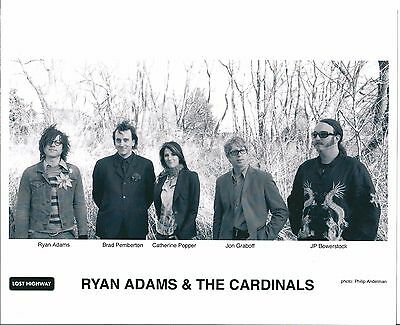 Ryan Adams & The Cardinals, CLASSIC official 8x10 press photo! Whiskeytown