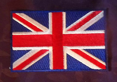 United Kingdom Flag Patch  Union Jack Flag Embroidered Uk Great Brittain Diy