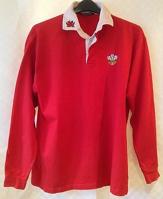 Wales Classic Rugby Union Home Shirt Size L Large