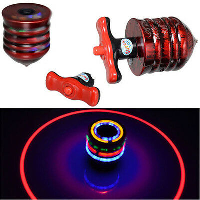 New SUPER Spinning Top Gyro Spinner Laser LED Music Flash Light Kids Toy Gift