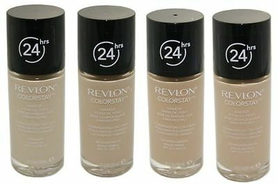 Revlon Colorstay 24 Hours Foundation Makeup 30ml Choose Shade colourstay