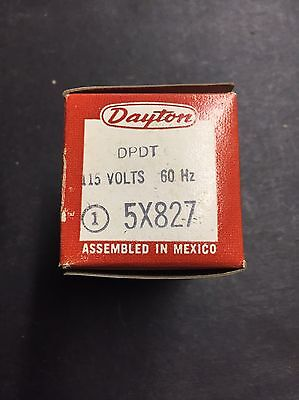 Dayton 5X827 Plug in Relay