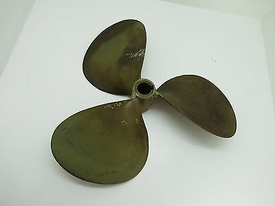15Lh16 Left Hand Michigan Dyna Jet 863 Bronze Prop Propeller Boat (P155)