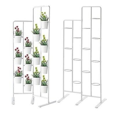 Vertical Metal Plant Stand 13 Tiers Display Plants Indoor or Outdoors on a Ba...