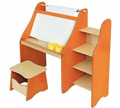 Liberty House Toys MZ4381 Artists Drawing Desk and Stool Set