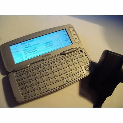 ORIGINAL Nokia 9300 COMMUNICATOR UNLOCKED WORKING+ WALL CHARGER