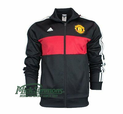 Manchester United 2016/17 3 Stripe Track Jacket by adidas