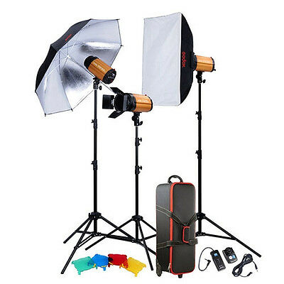 Godox Smart Studio 3 Monolight Flash Strobe 300WS Softbox Kit