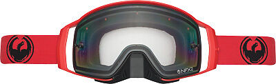 Dragon NFX2 Red Frameless MX Motocross Offroad Riding Motorcycle Helmet Goggle