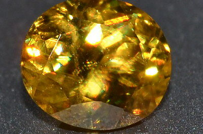 Beautiful 1.48ct VVS Natural Untreated Oval Sphene Gemstone