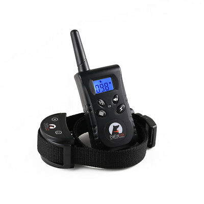 PaiPaitek Rechargeable Waterproof 500 Yard Remote Pet Dog Training Collar PD520