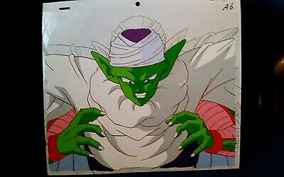 PICCOLO DRAGONBALL Z original Production anime cel A6  Ray Rohr Cosmic Artifacts