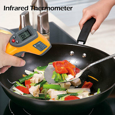 Handheld Non-Contact IR Laser Point Infrared Digital Temperature Gun Thermometer