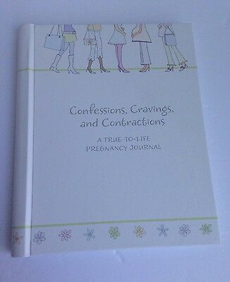 """Hallmark Pregnancy Journal """"Confessions, Cravings, Contradictions"""" BRAND NEW"""