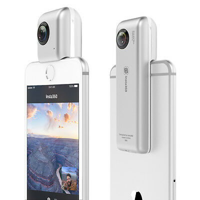 Insta360 Nano 3K 360° Dual Lens Camera Camcorder HD Video VR for iPhone 6/S Plus