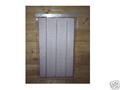 Dog kennel & Run  PVC draft excluder    700mm x 400mm